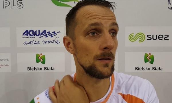 Jarosław Macionczyk po wygranyn meczu z Tauronem AZS Częstochowa