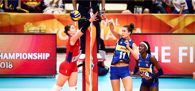 MŚ siatkarek: Serbia - Włochy 3:2