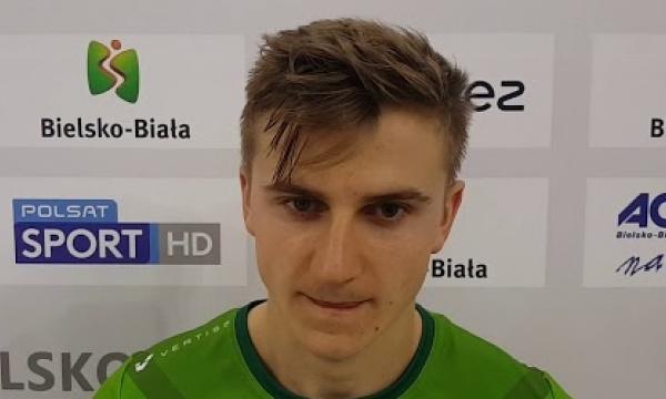 Paweł Rusin po zwycięskim meczu w Bielsku-Białej