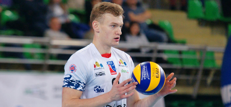 Bartosz Filipiak atakującym Trefla Gdańsk