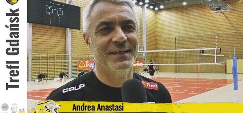 Andrea Anastasi przed meczem z Asseco Resovią Rzeszów | Trefl Gdańsk