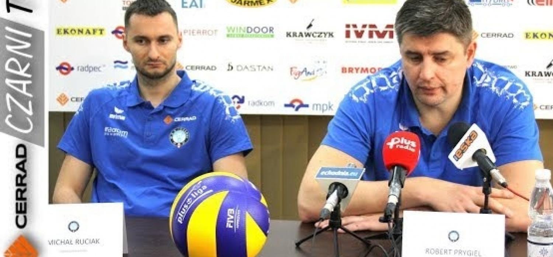 CzarniTV: Konferencja prasowa przed meczem Stocznia Szczecin - Cerrad Czarni Radom