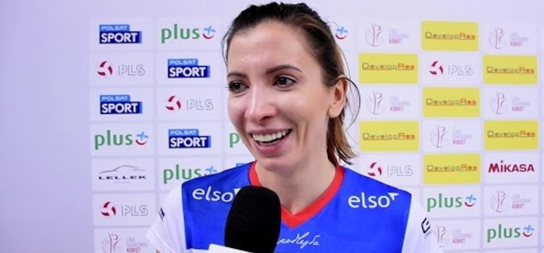 Klaudia Kaczorowska o meczu z Developresem SkyRes Rzeszów