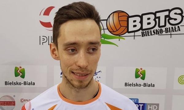 Bartosz Cedzyński po wygranej 3:0 z Buskowianką Kielce