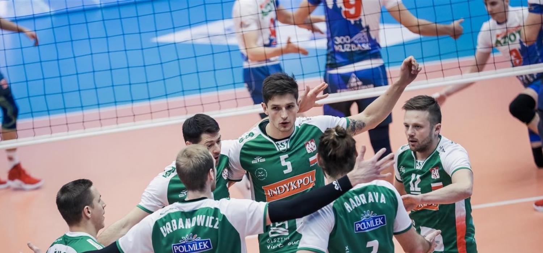Puchar CEV: Indykpol AZS Olsztyn - Kuzbass Kiemierowo 1:3