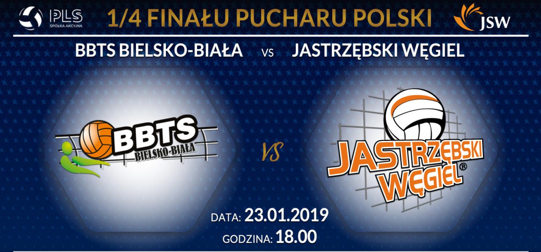Jastrzębski Węgiel walczy o przepustkę do turnieju finałowego Pucharu Polski