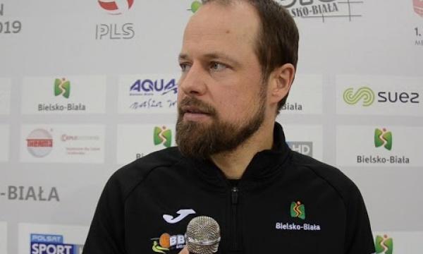 Trener Paweł Gradowski po ćwierćfinałowym meczu Pucharu Polski z Jastrzębskim Węglem