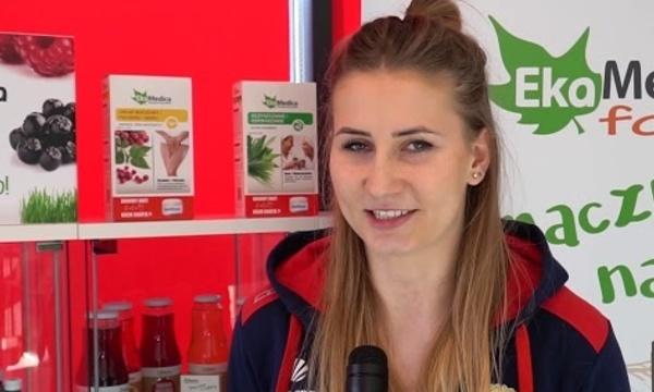 Kornelia Moskwa zapowiada mecz z Developresem SkyRes Rzeszów