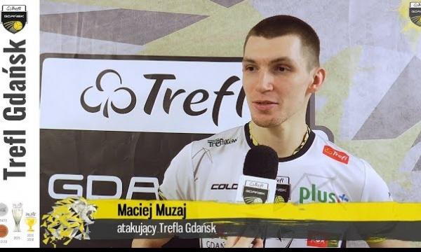 """Wielkie """"wow"""" - Maciej Muzaj po zwycięstwie z ZAKSĄ Kędzierzyn-Koźle   Trefl Gdańsk"""