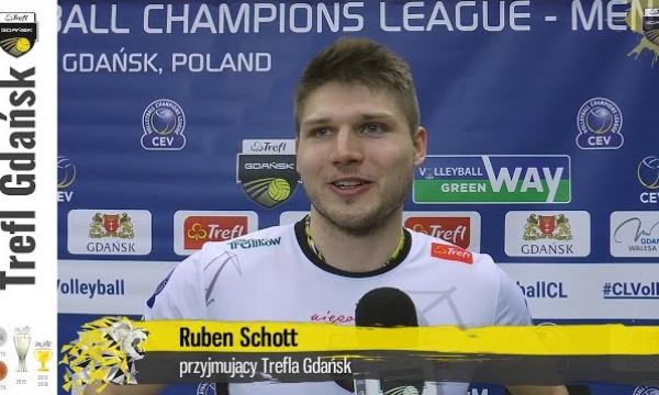 Andrea Anastasi i Ruben Schott po tie-breaku z Zenitem Kazań | Trefl Gdańsk