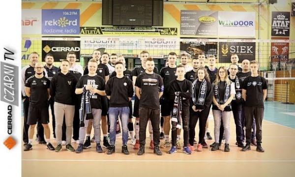 CzarniTV: Zaproszenie na drugi mecz ćwierćfinałowy w hali MOSiR-u!