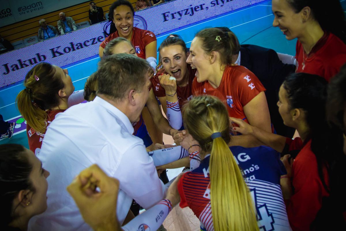 Energa Mks Kalisz Sezon 20182019 Kluby Liga Siatkówki Kobiet