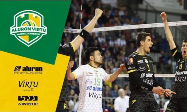 Aluron Virtu pokonuje ZAKSĘ w pierwszym meczu półfinałowym!