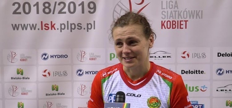 Wywiad Katarzyny Koniecznej po ostatnim meczu w swojej karierze