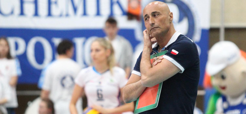 Marcello Abbondanza nie jest już trenerem Chemika Police