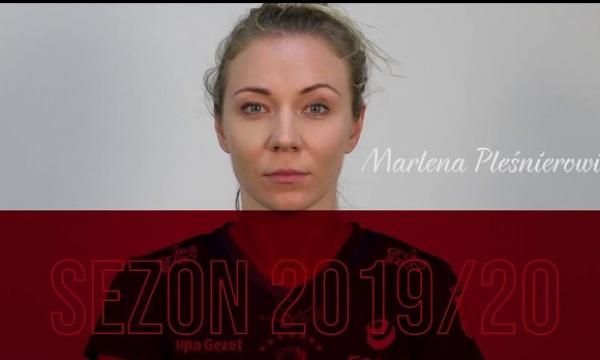 Marlena Pleśnierowicz zostaje na sezon 2019/20