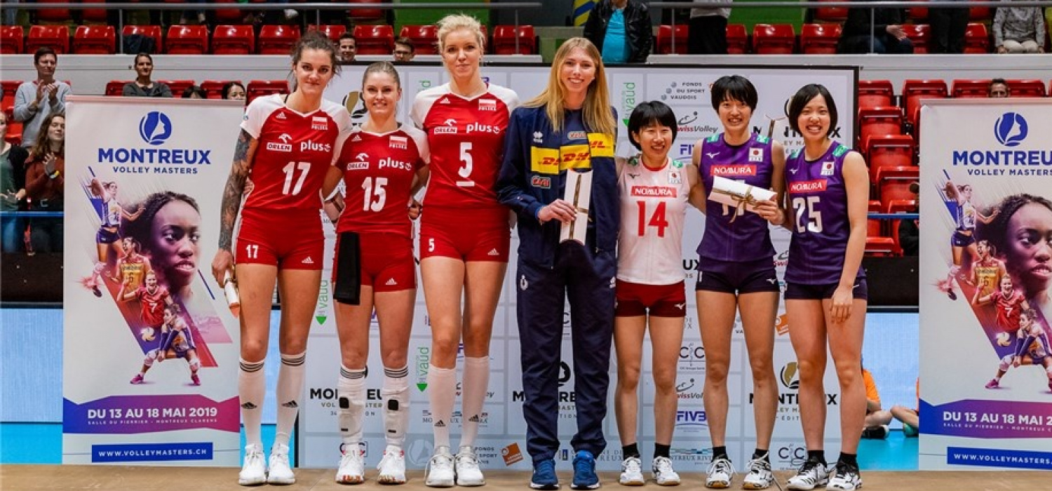 Montreux Volley Masters: Malwina Smarzek MVP