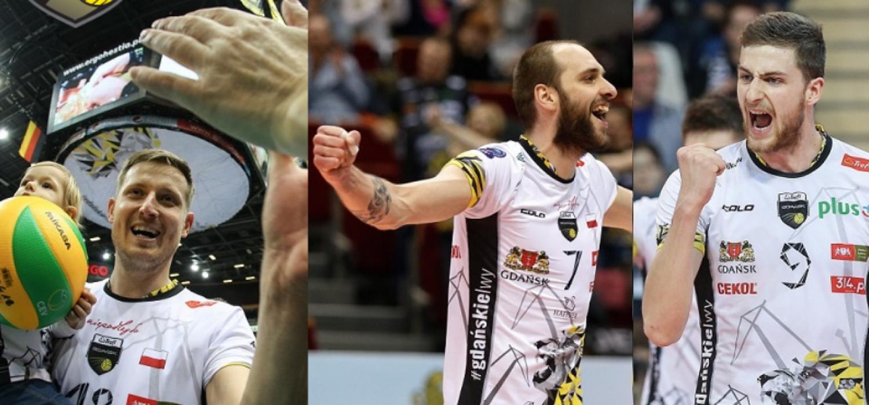 Trzech zawodników żegna się z Gdańskiem
