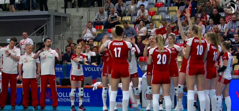 Biało-czerwone po dobrym meczu z Włoszkami
