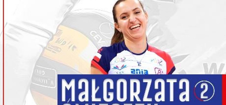Małgorzata Śmieszek zostaje na kolejny sezon w Łodzi