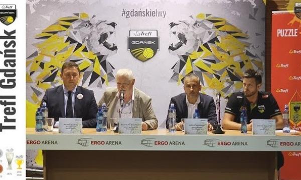 Michał Winiarski trenerem Trefla Gdańsk - konferencja prasowa | Trefl Gdańsk