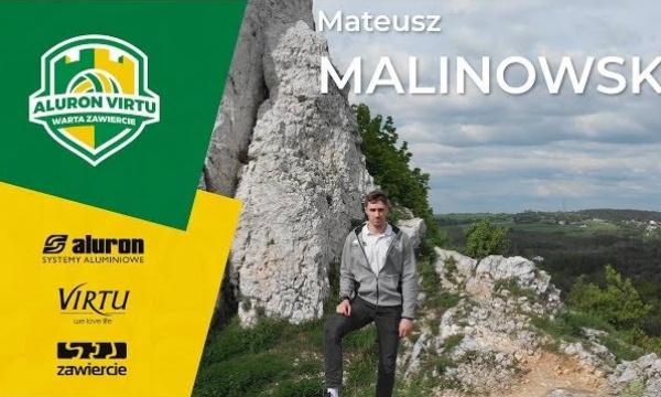 Mateusz Malinowski nadal w Aluron Virtu!