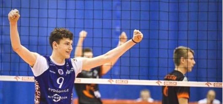 Dawid Biesek zamyka skład APP Krispol Września