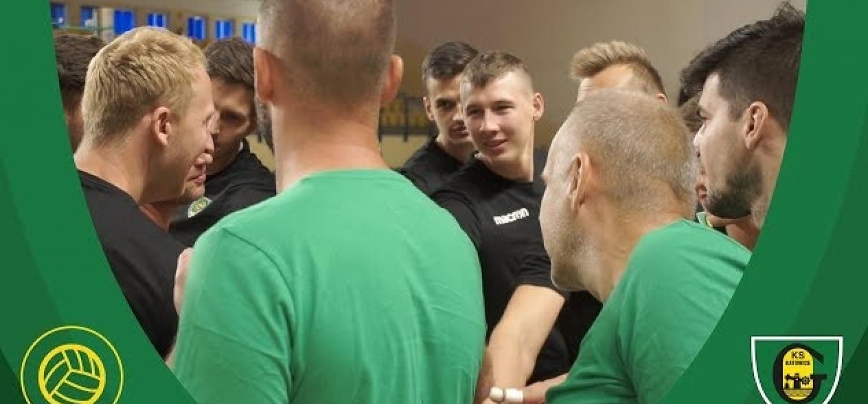 Pierwszy trening siatkarzy GKS Katowice.