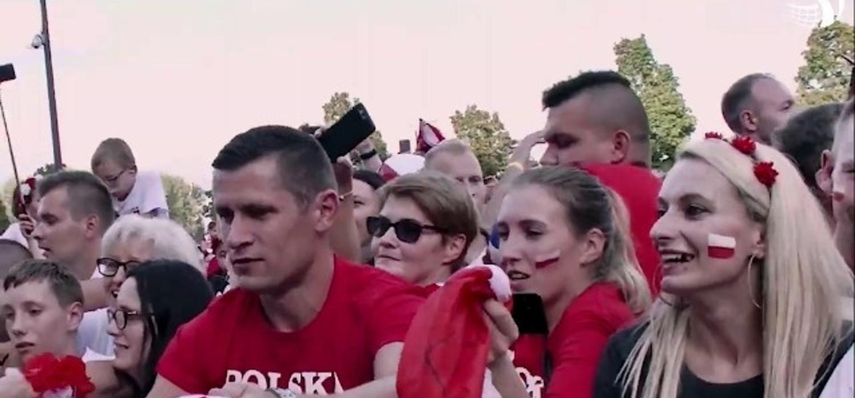Popis Polaków na boisku i trybunach!