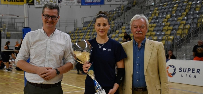 #VolleyWrocław z pierwszym trofeum