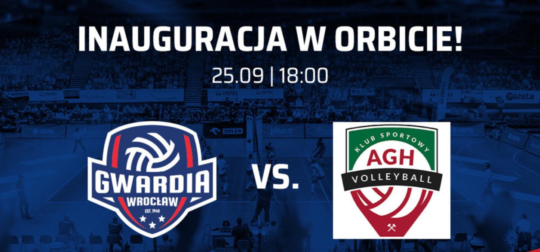Bilety na pierwszy mecz KFC Gwardii Wrocław w Orbicie