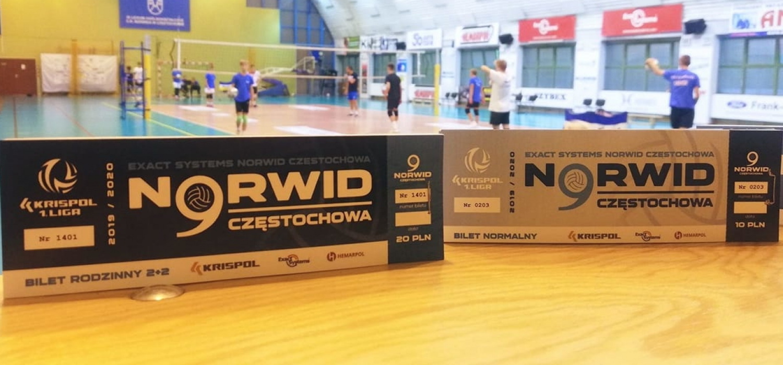 Bilety na mecz Exact Systems Norwid Częstochowa