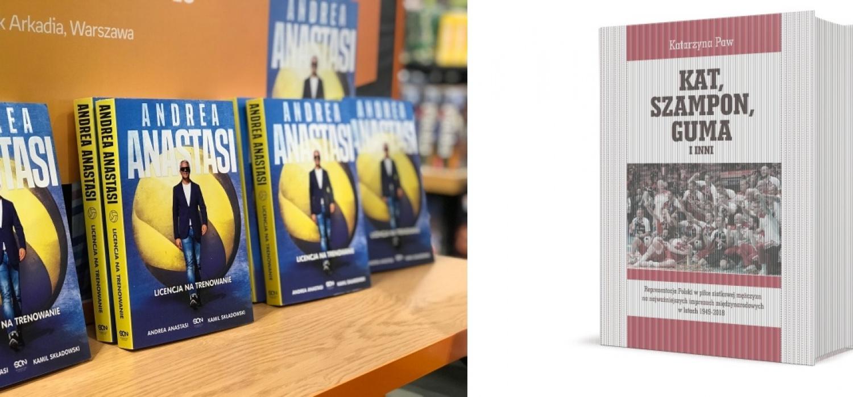 Siatkarskie książki w Arenie Gliwice podczas Superpucharu Polski