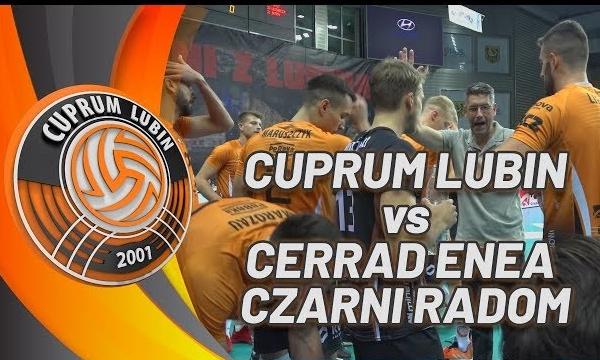 Cuprum Lubin - Cerrad Enea Czarni Radom