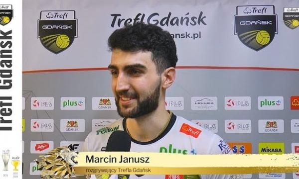 Trzy sety na przewagi. Marcin Janusz po starciu z Indykpolem AZS-em Olsztyn | Trefl Gdańsk