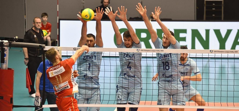 Środa z CEV Ligą Mistrzów: Zenit Kazań przegrał