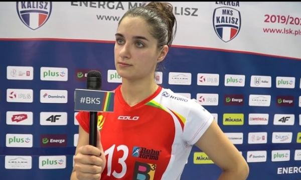 Wywiady po meczu z Energa MKS Kalisz