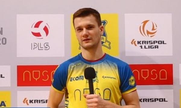 Bartosz Bućko: Nasza dyspozycja będzie jeszcze lepsza