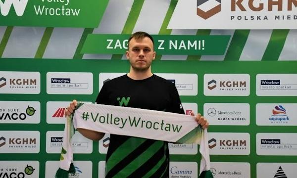 Wojciech Kurczyński zostaje w #VolleyWrocław!