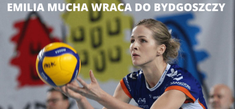 Emilia Mucha w Banku Pocztowym Pałacu Bydgoszcz