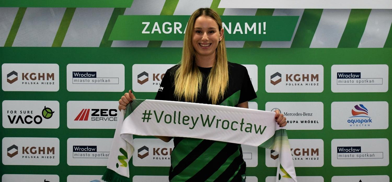 Paula Słonecka dołącza do #VolleyWrocław