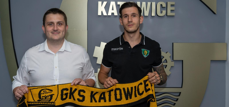 Dawid Ogórek wraca do GKS-u Katowice