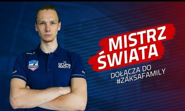 Mistrz świata w ZAKSIE | Jakub Kochanowski