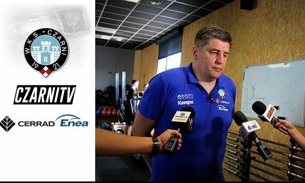 CzarniTV: Robert Prygiel o inauguracji przygotowań drużyny Cerrad Enea Czarnych Radom