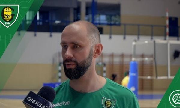 Trener Grzegorz Słaby przed startem nowego sezonu PlusLigi