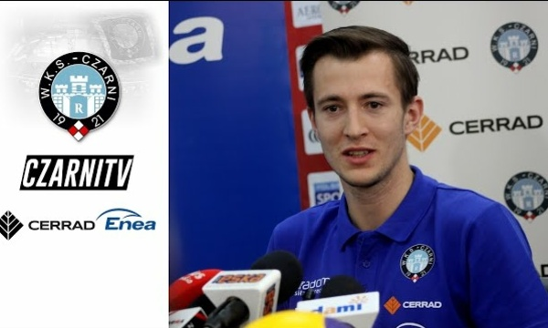 CzarniTV: Michał Kędzierski przed meczem z Indykpol AZS Olsztyn