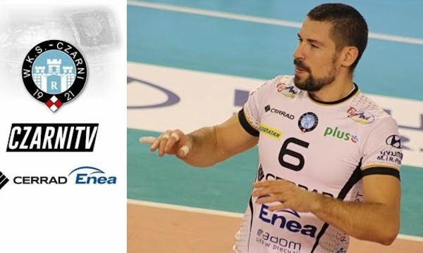 CzarniTV: Dawid Konarski: - Jesteśmy drużyną, która musi ciężko pracować
