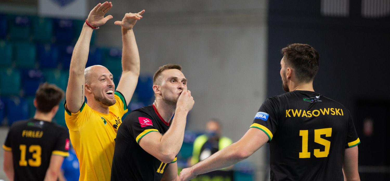 Poniedziałek z PlusLigą: GKS Katowice - Stal Nysa 3:2