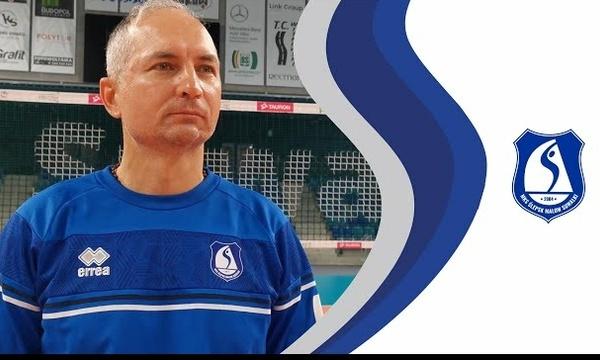 Ślepsk TV - Andrzej Kowal przed meczem z Indykpolem AZS Olsztyn