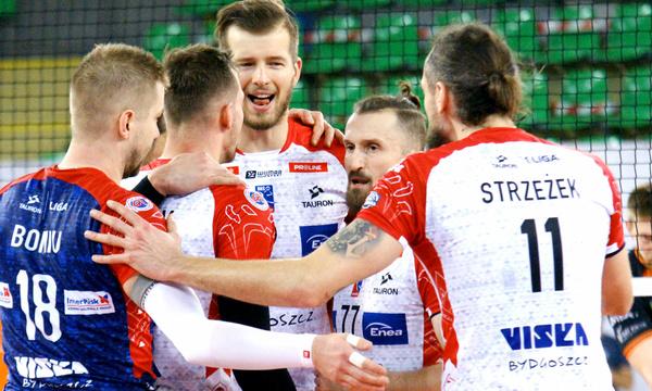 BKS Visła Bydgoszcz pierwszym półfinalistą TAURON 1.Ligi